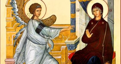 Да посрещнем Благовещение – 25 март – със светла вяра и добра надежда
