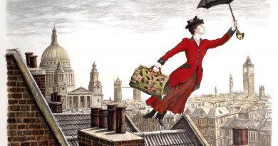 В живота на едно дете Лелята е тази обожавана Мери Попинз, която слиза от облаците