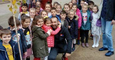 Деца и татковци се забавляваха в старозагорска детска градина