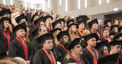 120 абсолвентите получиха дипломите си от Аграрния факултет