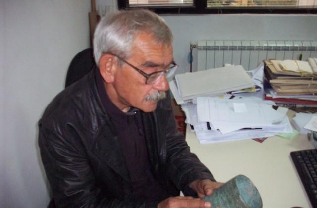 Археологът Димитър Янков чукна 70 години