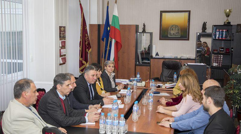 Ръководствата на Община Стара Загора и Тракийския университет започнаха редовни общи работни срещи