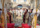 Митрополит Киприан служи в Потопената църква