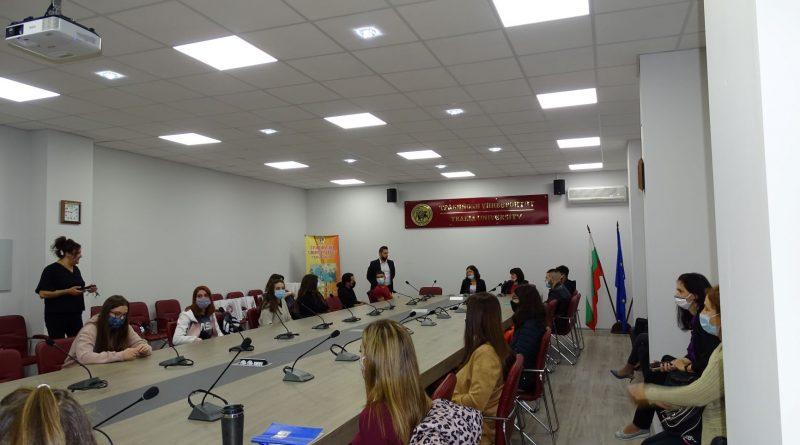 19 курсисти от 5 държави започват обучение в Центъра за езиково обучение на чужденци в Тракийски университет – Стара Загора