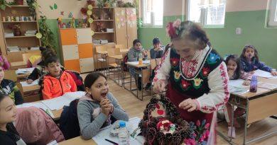 """Баба Марта гостува на ОУ """"Св. св. Кирил и Методий"""", с. Хан Аспарухово"""