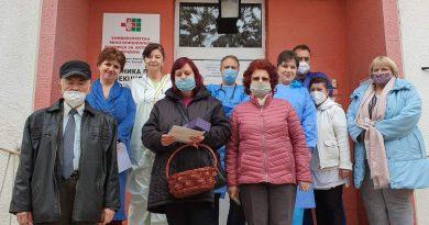 """НЧ """"Св. Климент Охридски 1858"""" гостува на Клиниката по инфекциозни заболявания"""