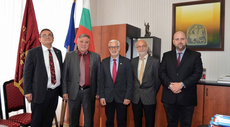 Делегация от немския Университет в Гисен посети Тракийски университет – Стара Загора