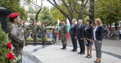 Стара Загора отбеляза тържествено113 години от обявяване на Независимостта на България