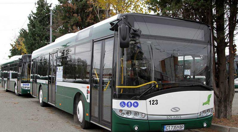 Промяна в разписанието на вътрешноградските автобусни и тролейбусни линии от 22 октомври 2021 г.